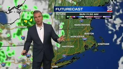 Boston 25 Friday late night weather forecast