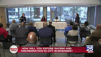 Boston Mayoral Forum presented by the Urban League of Eastern Massachusetts and Boston 25 News