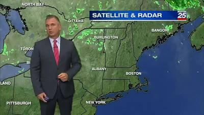 Boston 25 Sunday night weather forecast