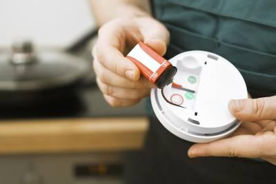 When clocks change for daylight saving, change smoke detector batteries