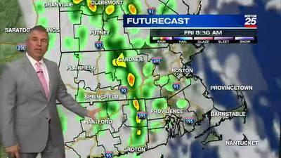 Boston 25 Thursday night weather forecast