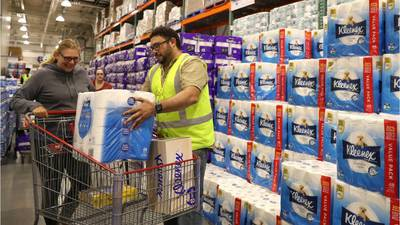 Costco limits toilet paper, cleaning supply purchases
