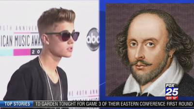 Let's play a game - Bieber or Shakespeare?