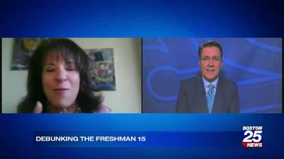 BU nutrition professor Dr. Joan Salge Blake talks about the myth of the Freshman 15 with Boston 25 News