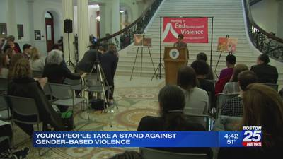 'White Ribbon Day' event held at State House to help end gender-based violence