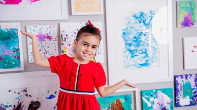 Newton 4-year-old will have her artwork displayed at The Louvre