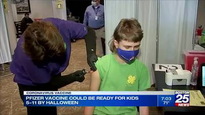 Experts: Vaccine for kids 5-11 could be ready by Halloween
