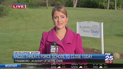 Academy of Notre Dame closed Tuesday after threat discovered