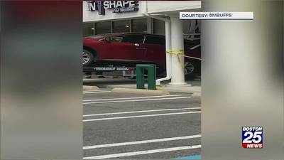 Car crashes into women's gym in Georgetown