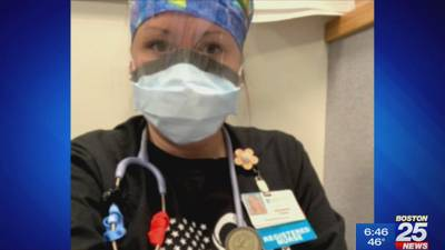 Grieving Newton Wellesley nurse is a hero in the hospital and the home