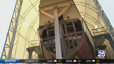 PRESERVING HISTORY: Mayflower II undergoing major renovation in Conn.