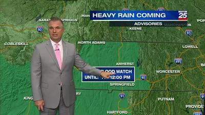 Boston 25 Thursday evening weather forecast