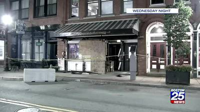 Police: Methuen woman intentionally crashed car into Haverhill bar
