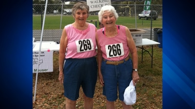 89-year-old Scituate woman, 94-year-old sister are champion powerlifters