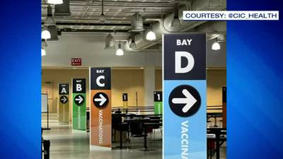 Hynes Convention Center opens as new mass vaccination site