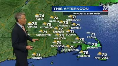 Boston 25 Saturday morning weather forecast
