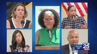 Boston mayoral hopefuls counting down hours until Tuesday's preliminary election