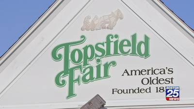 Heading to the Topsfield Fair? You'll need to wear a mask inside fairground buildings