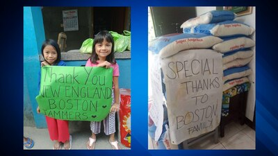 South Shore man raises money to help struggling families in the Philippines