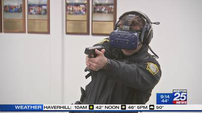 Barnstable Police using virtual reality to train officers with new simulation experience
