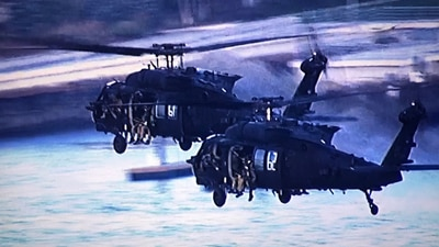 Have you seen them? City of Boston explains why military helicopters are flying over Boston