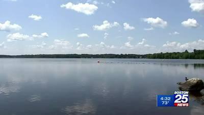 Town of Sharon says Lake Massapoag may reopen next week