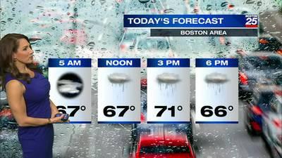 Boston 25 Tuesday morning weather forecast