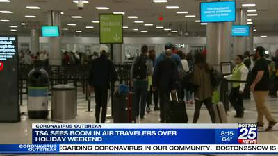 TSA numbers show air travel is busiest its been since March