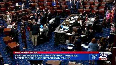 Senate passes $1.2 trillion bipartisan infrastructure package