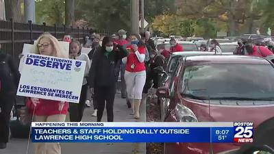 School staff, city leaders to hold protest & walk-in responding to violence at Lawrence High School