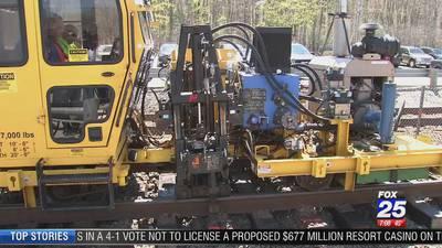 T makes progress on $70 million Commuter Rail project
