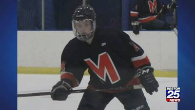 Fundraiser held for Milton Academy hockey player injured on ice