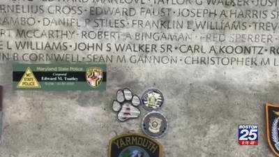 Police gather in Washington to share memories of fallen officers