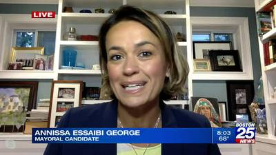 Boston mayoral candidate Annissa Essaibi George discusses her campaign after securing spot on Nov. ballot