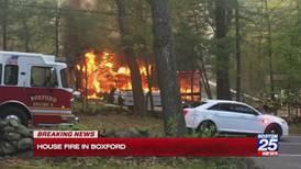 2 dogs perish in Boxford house fire