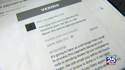 Customers sending cash with the click of a button on an app could lose money to scammers