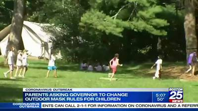 Parents plead with Gov. Baker to ease mask restrictions for outdoor youth sports, camps