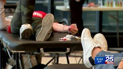 Red Cross holds blood drives across MA for One Boston Day