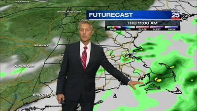 Boston 25 Wednesday night weather forecast