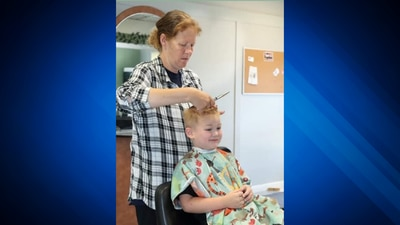 Attleboro salon owner gives free back-to-school haircuts to 140+ kids