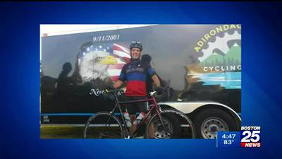 From Fenway to Yankee Stadium: Correction officer riding to support fallen law enforcement