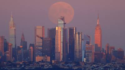Photos: September 2021 Harvest Moon brightens the night sky