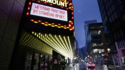 The ripple effect of dark theaters
