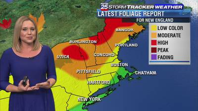 New England leaf-peeping report: How does weather impact fall foliage