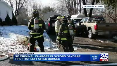 Worcester DA: No charges in daycare fire