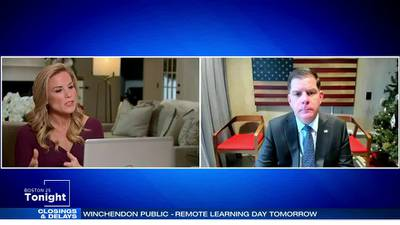 Boston 25 News anchor Vanessa Welch talks one-on-one with Boston Mayor Marty Walsh