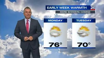 Boston 25 Sunday late night weather forecast
