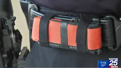 Malden officers' tourniquet training credited with helping save gunshot victim