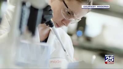 Boston 25 News goes 'Inside Moderna': Looking to future treatments