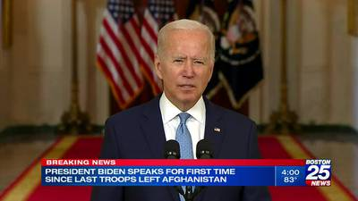 Biden on ending war in Afghanistan: 'I was not going to extend this forever war'